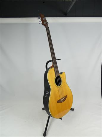 Kaman Ovation AE-40 Applause Acoustic / Electric Bass w/ Case