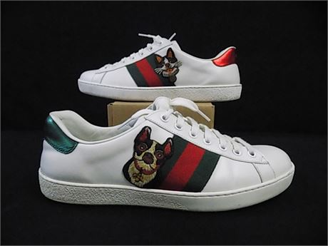 GUCCI Ace 'Year of the Dog' Sneakers, Size:7