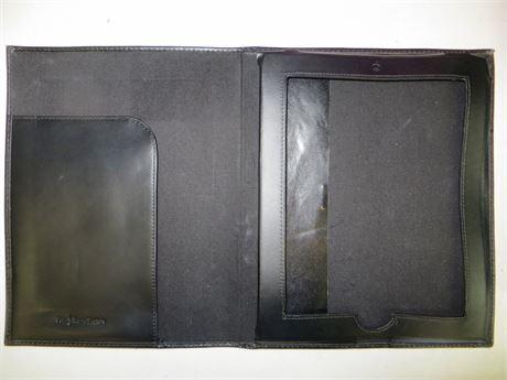 Polo Ralph Lauren Leather iPad/Tablet Folio - Black
