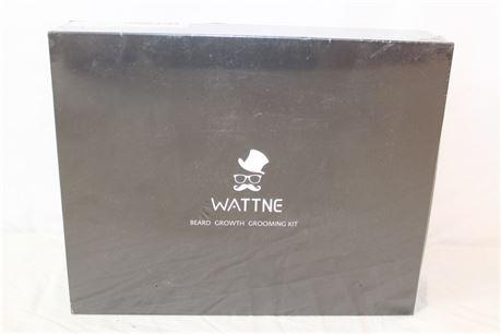 Wattine Beard Growth Grooming Kit NEW