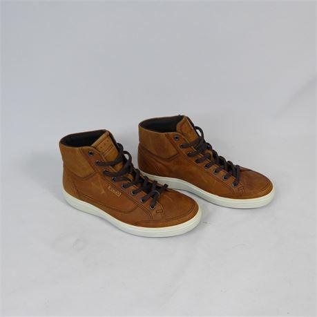 ECCO Danish Design Hightop Sneakers, Men's Size 7, NEW