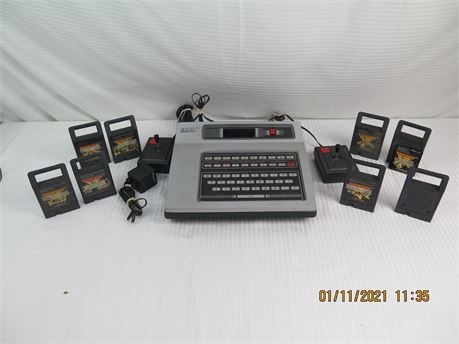 Magnavox Odyssey 2 Video Game Console w/ 8 Video Games (670)