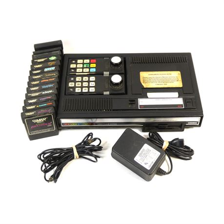 ColecoVision Video Game Console System w/13 Games!