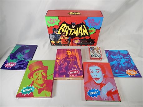 Batman: The Complete Television Series Limited Edition Blu-ray (270)R2BS2