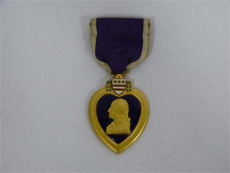 Purple Heart Military Merit Pin