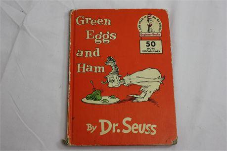 Dr. Seuss Green Eggs and Ham 1960