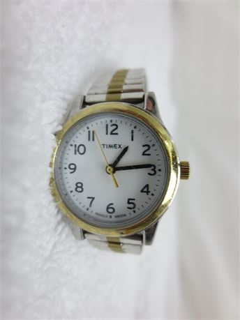 Timex Indiglo Watch WR 30M with Stretch Band