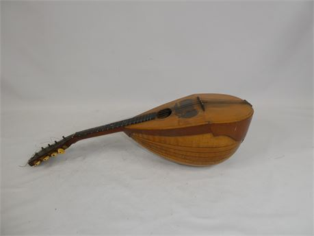 Antique 8-String Mandolin By Joseph Bohmann, Bowl Back
