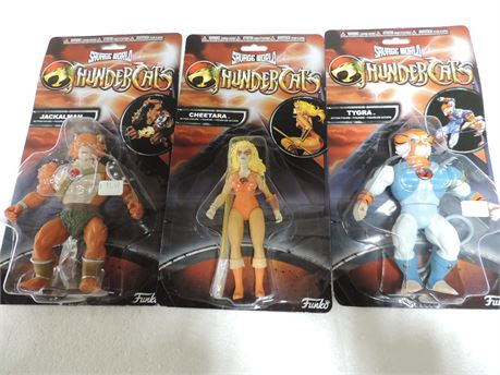 Three Thunder Cats Action Figures