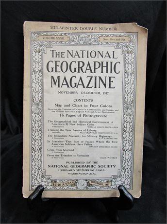 National Geographic Magazine - Vol. XXXII No. 5 & 6 November - December 1917