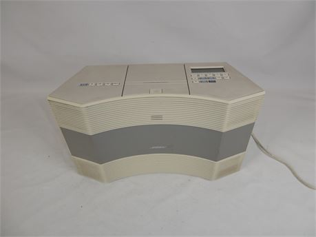 Bose Acoustic Wave CD-3000 Music System CD AM/FM White