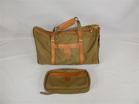 Hartmann DuffleBag w/ Matching Toiletry Bag, Good Shape!