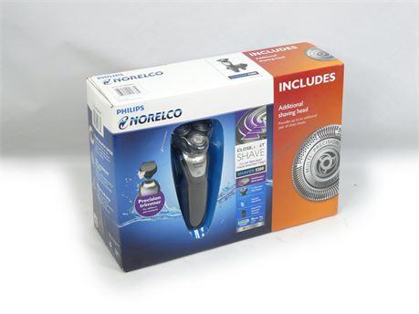 Philips Norelco Wet & Dry Shaver 5200 Bonus Set w/Additional Shaving Head |NEW!|