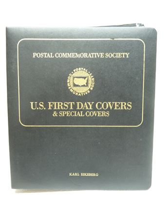 U.S. Postal Service; 1986 Presidents First Day Covers,In Book