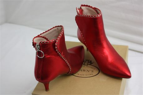 Woman's Size 6 Brawn's Italian Made Ankle Boots