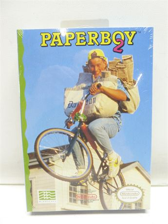 Paperboy 2, Nintendo Entertainment System, 1991, !!NEW!! Factory Sealed!!!
