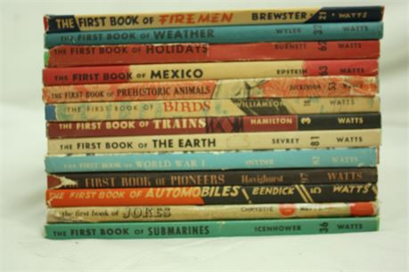 """Collection of """"The First Book"""""""