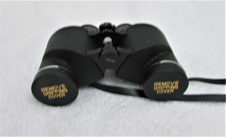 Montgomery Ward Fully Coated Precision Optics Binoculars:7x35MM Super Wide Angle