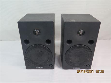 Pair of Yamaha MSP5 Active Two-Way 60W Nearfield Studio Monitors (670)