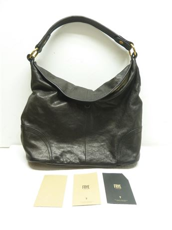 Frye Black Handbag; NEW W/TAGS (Retail $348.00)