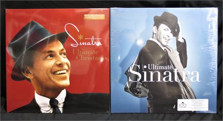 Ultimate Sinatra and Sinatra: Ultimate Christmas Records. Brand New!