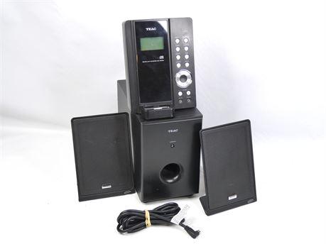 TEAC MC-DX50i Ultra Thin Hi-Fi CD iPod Docking Music System