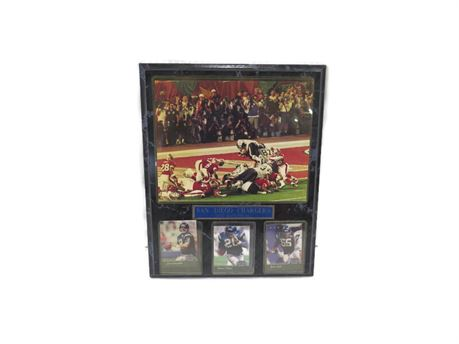 San Diego Chargers 1995 Superbowl Wall Hanging (670)