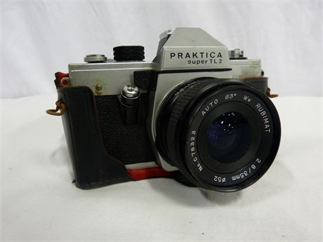 Vintage Praktica Super TL 2 Film Camera