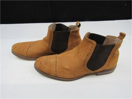 Stacy Adams Men's Brown Suede Ankle Boot Size 11M  (650)