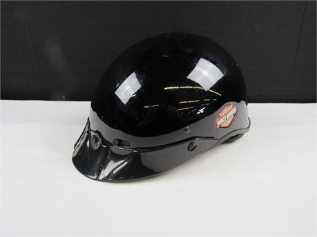 "Harley Davidson Motorcycles Size Small ""Shorty"" Model Helmet  (650)"