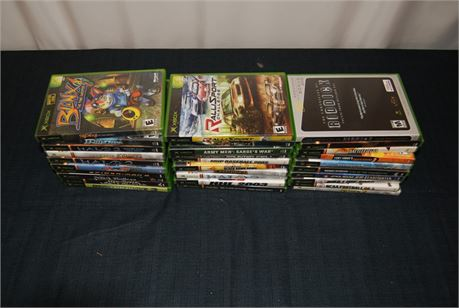 Xbox Game Lot (30) Titles  (500)