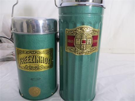 FREEZINHOT Thermos and Food Kit, NEW