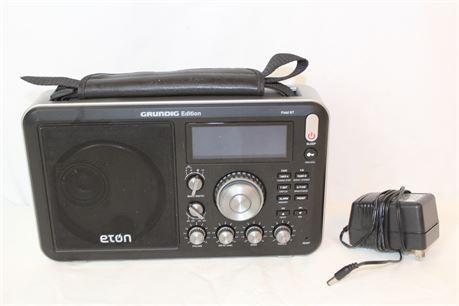 Eton Grundig Edition Field Bt Am Fm Shortwave Radio