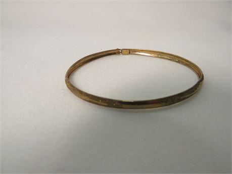 10k Gold Bracelet (Tested)