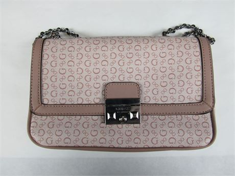 Guess Pink Top-Handled Purse #P1 (650)