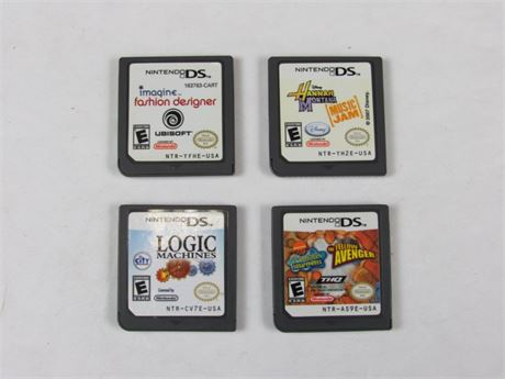 Nintendo DS Video Game Lot of 4 #VG8 (650)