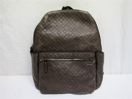 TUMI Brown Backpack