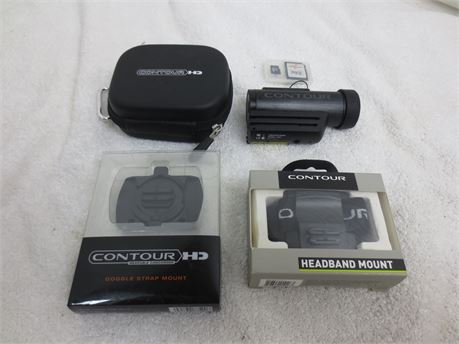 As Is Contour Roam HD Model 1600 Hands Free Camcorder