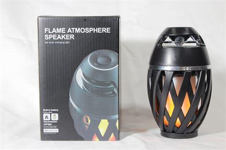 Flame Atmosphere Bluetooth Speaker/Radio, Lot of 2
