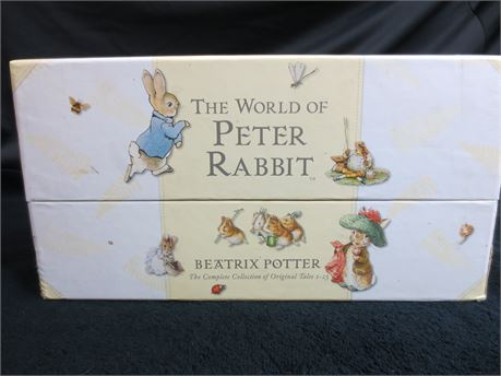 The World of Peter Rabbit Tales 1 to 23 in Case