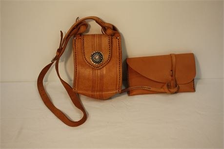 Soft Leather Purse and Clutch Lot (500)