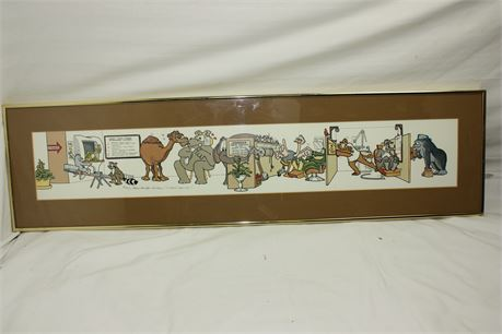 """Limited Edition Acrylic Lithograph """"Hi-Tech Tooth Dr."""" by Robert Marble with COA"""