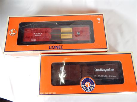 2 Lionel Train Cars (270r4Bs2)