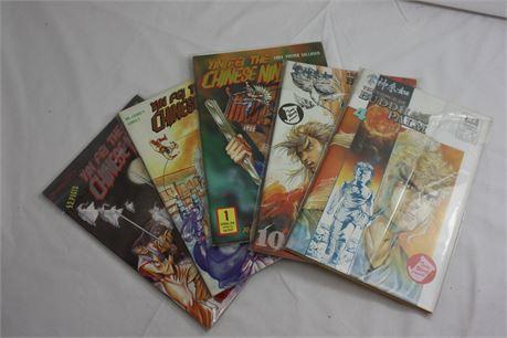 Lot of Chinese 80's comics