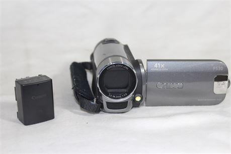 Canon 41X FS30 Video Camera + Battery