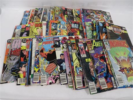 Lot of Comic Books (230-LVZ-ZZ12)