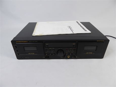Marantz Dual Cassette Deck Model SD4050