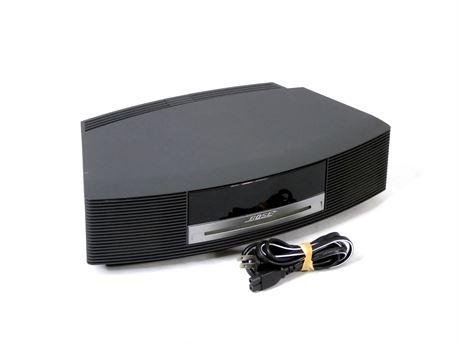 Bose Wave Music System AM/FM CD Player Alarm Radio Gray |No Remote|