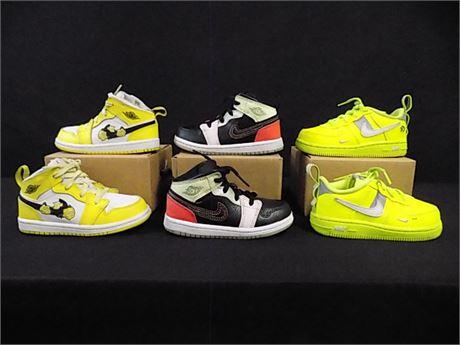 Toddler 'Jordan/Nike' Sneakers, 3 Pieces