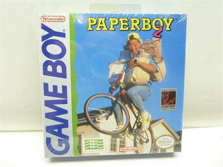 Paperboy 2, Nintendo Game Boy, 1991, !!NEW!! Factory Sealed!!!